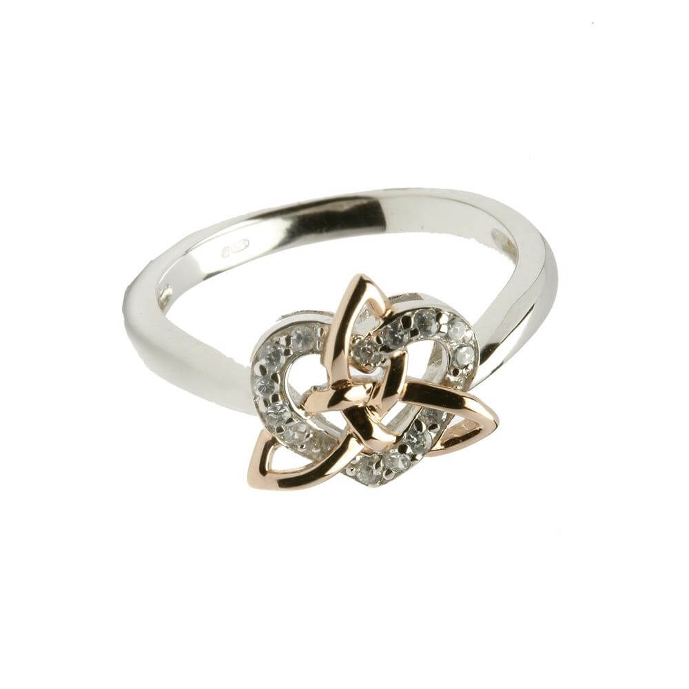 Trinity Knot With Heart Ring 74 95 Free Shipping