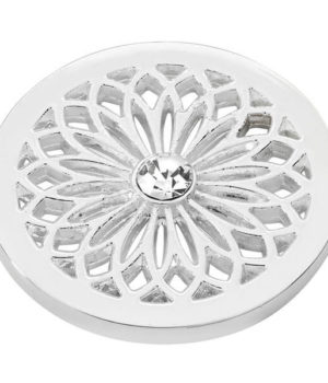 Flower Coin - Silver plated