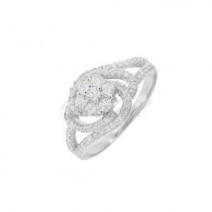 Diamond Rose ring -1